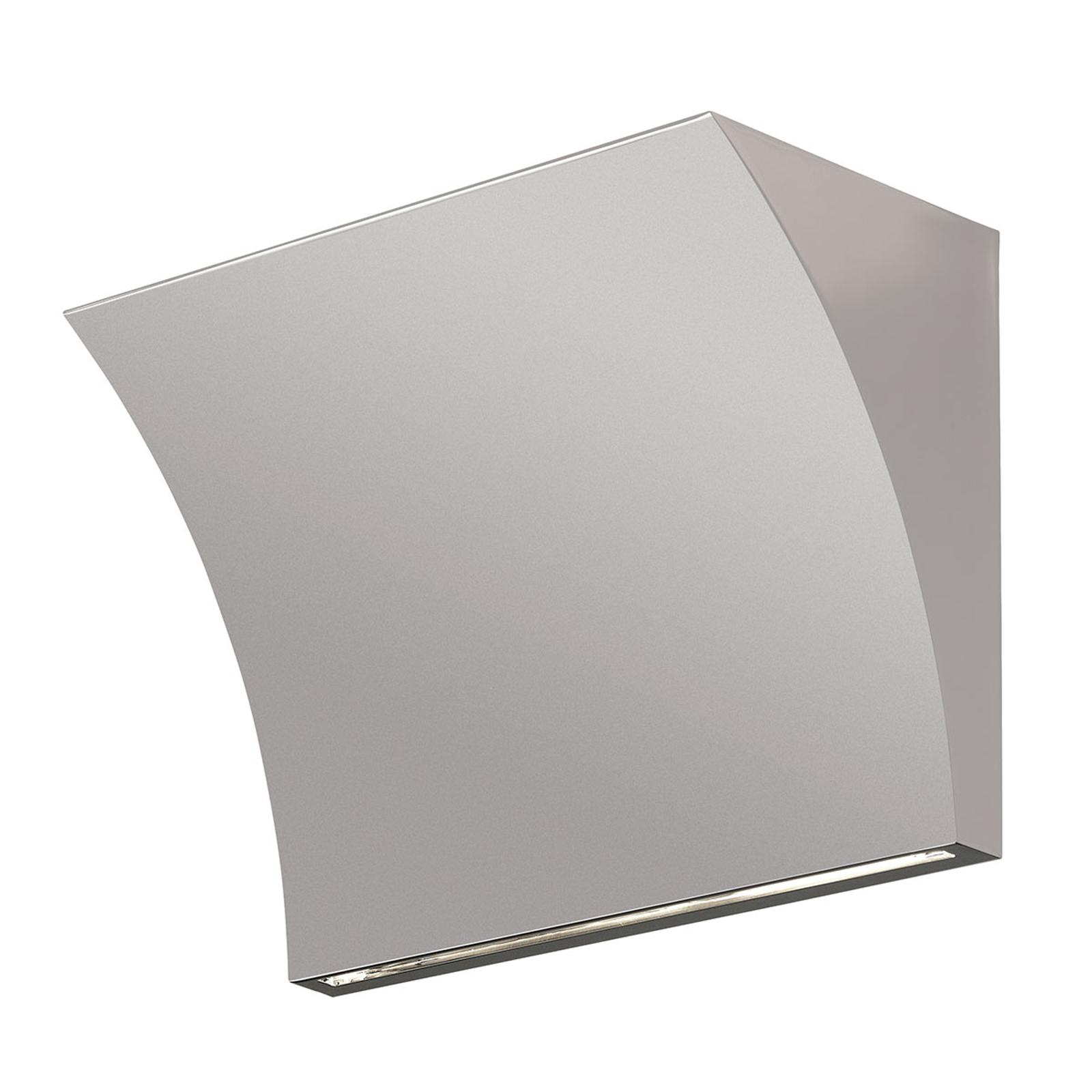 FLOS Pochette LED-Wandlampe grau