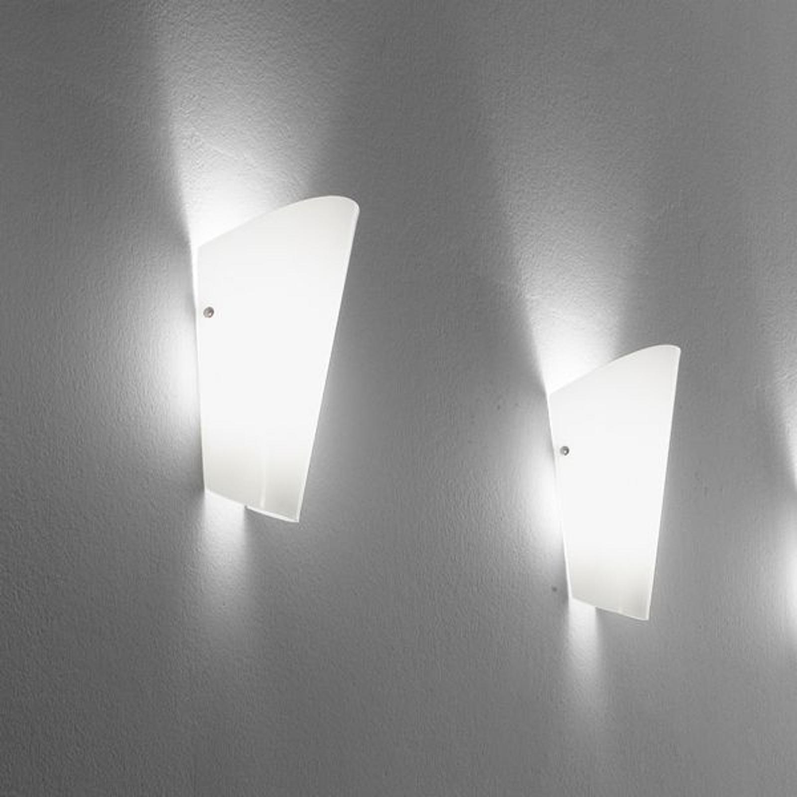 Bloom - wandlamp in 8 kleuren, zilverkleurig