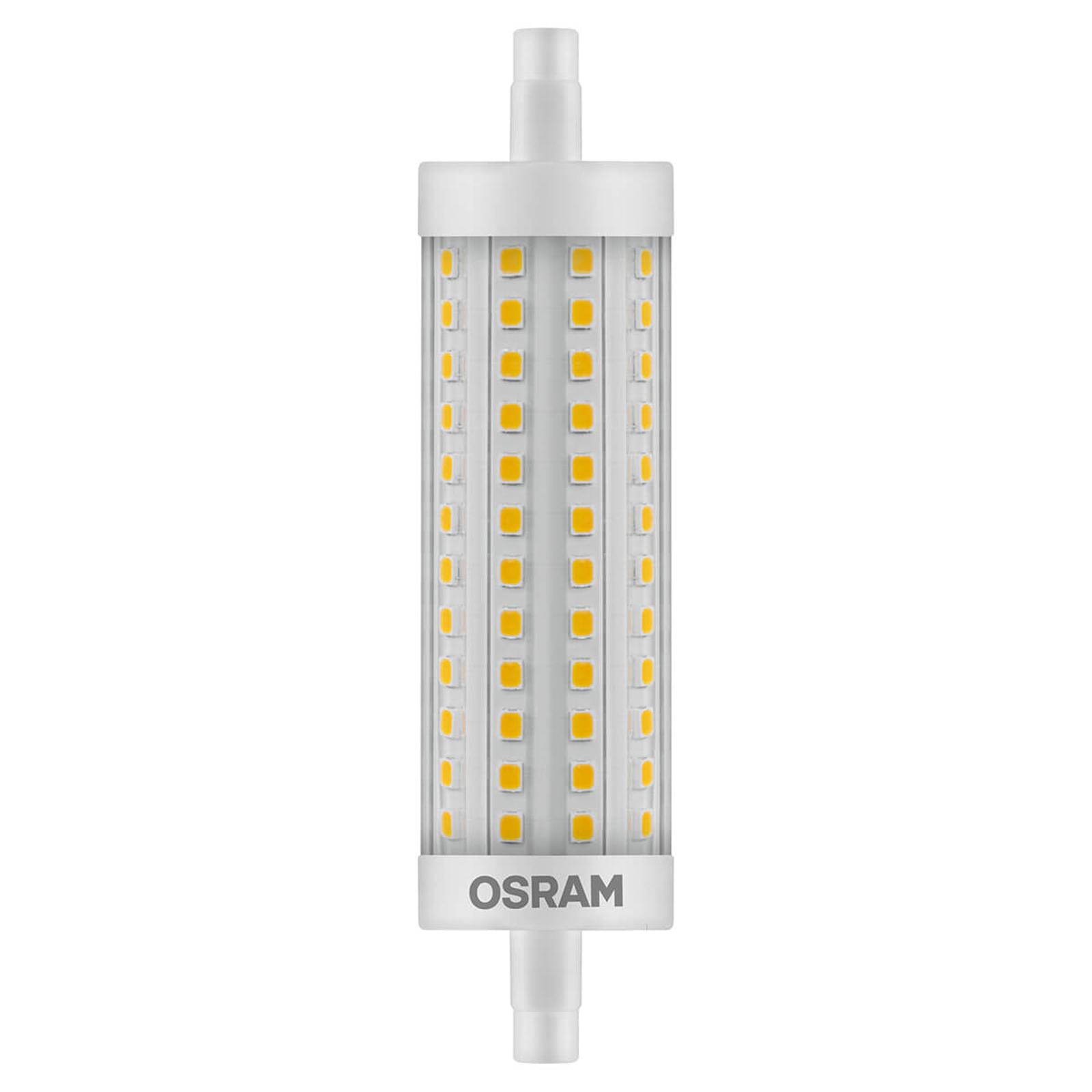 OSRAM LED-stav R7s 15W 11,8 cm 827 dimbar