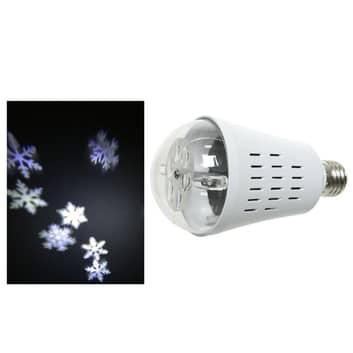 Żarówka projektor płatków LED E27