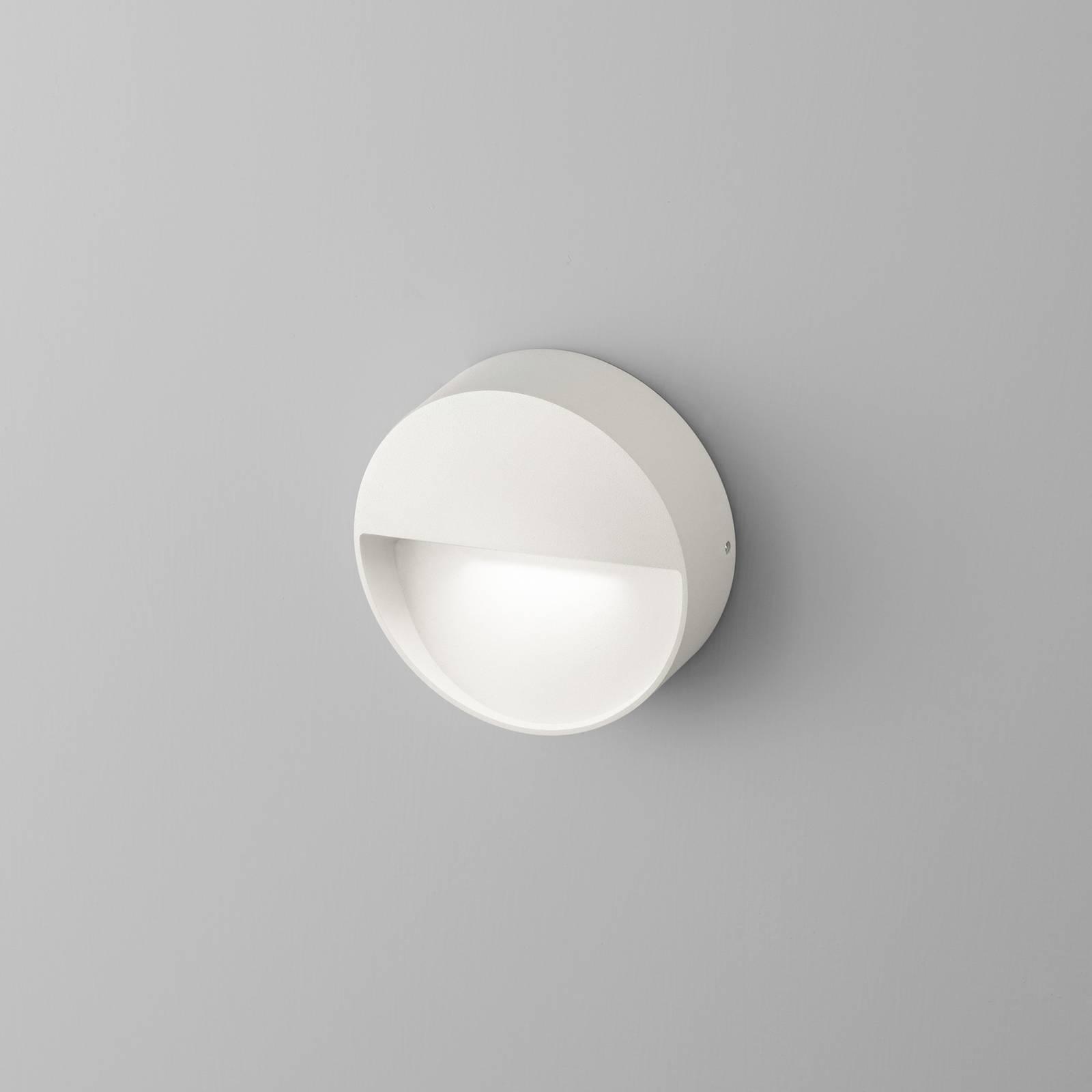 Egger Vigo LED-Wandleuchte mit IP54, weiß