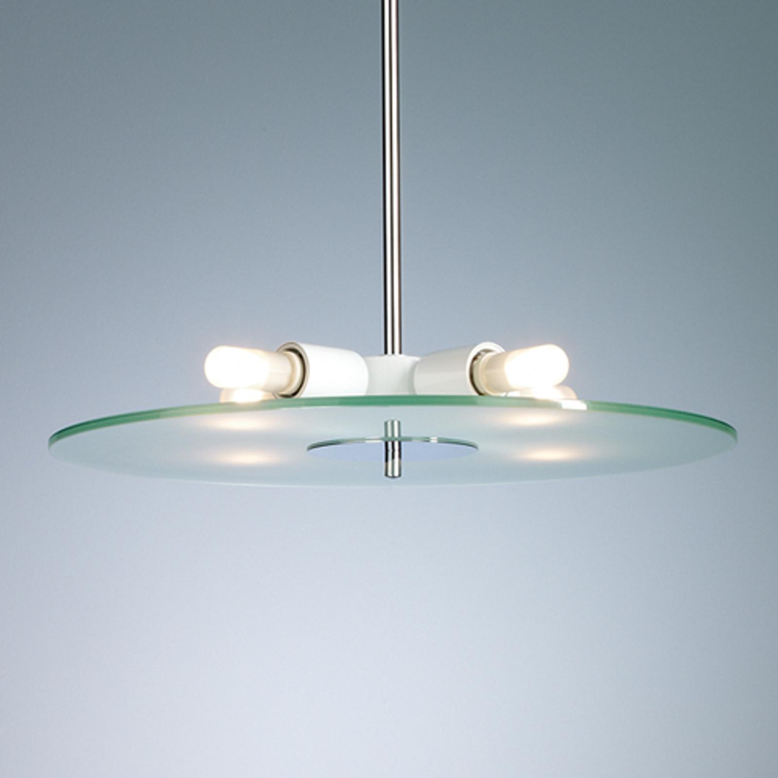 Lampa wisząca DION ze szkła, 50 cm