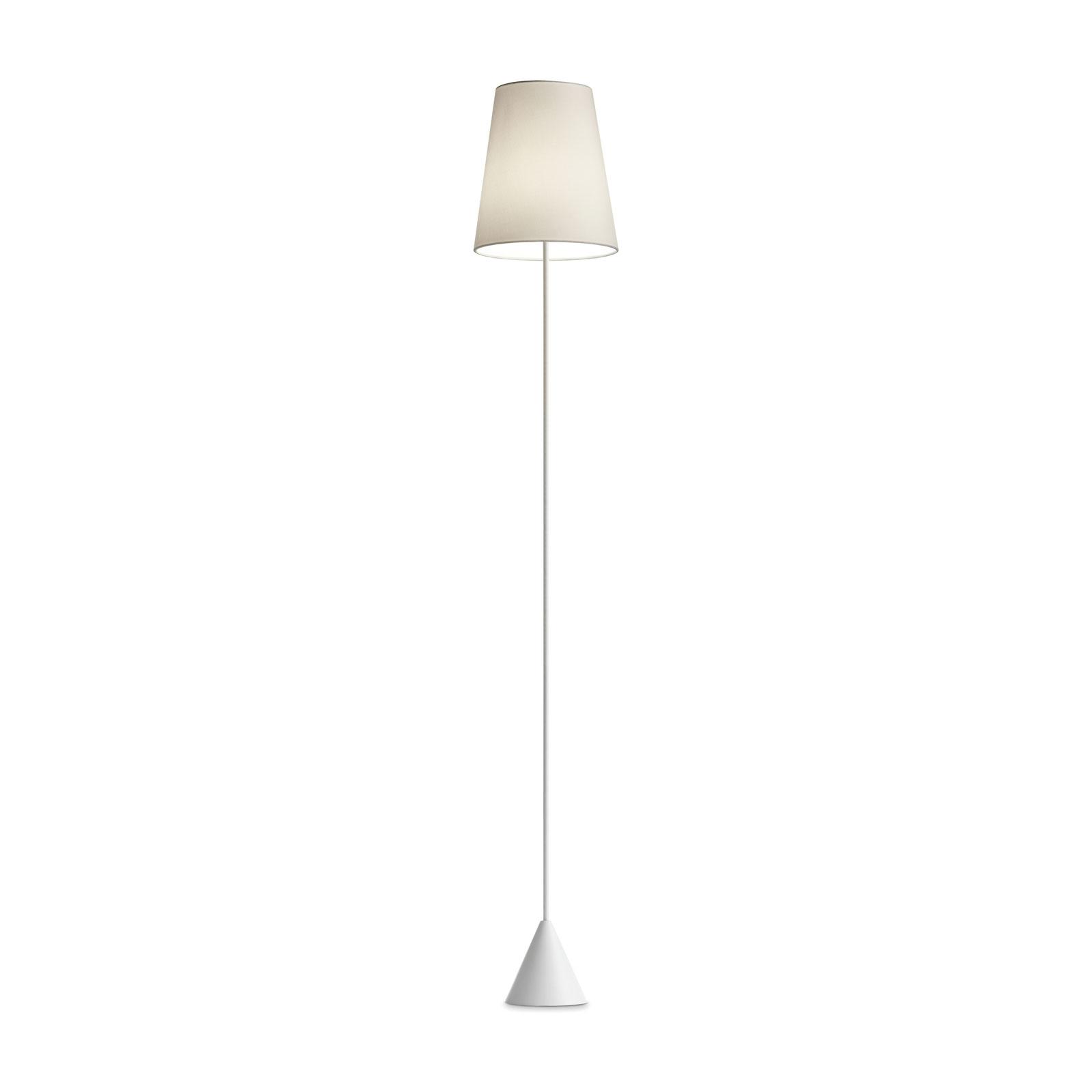Modo Luce Lucilla vloerlamp Ø 24cm wit/ivoor