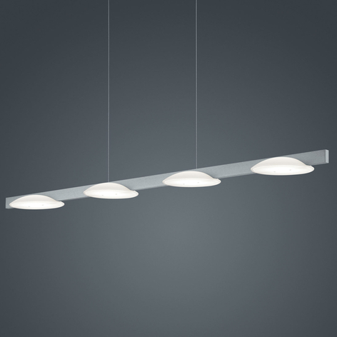 Helestra Pole suspension LED à 4 lampes