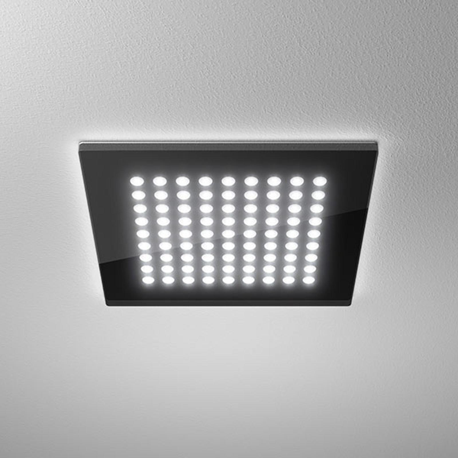 LED downlight Domino Flat Square, 21 x 21 cm, 18 W