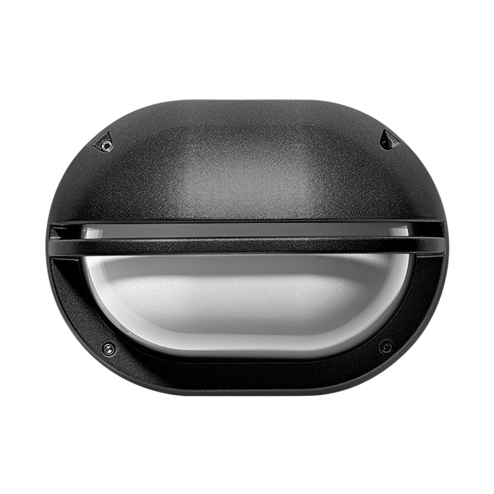 LED wandlamp Eko+19 Grill antraciet 3.000K