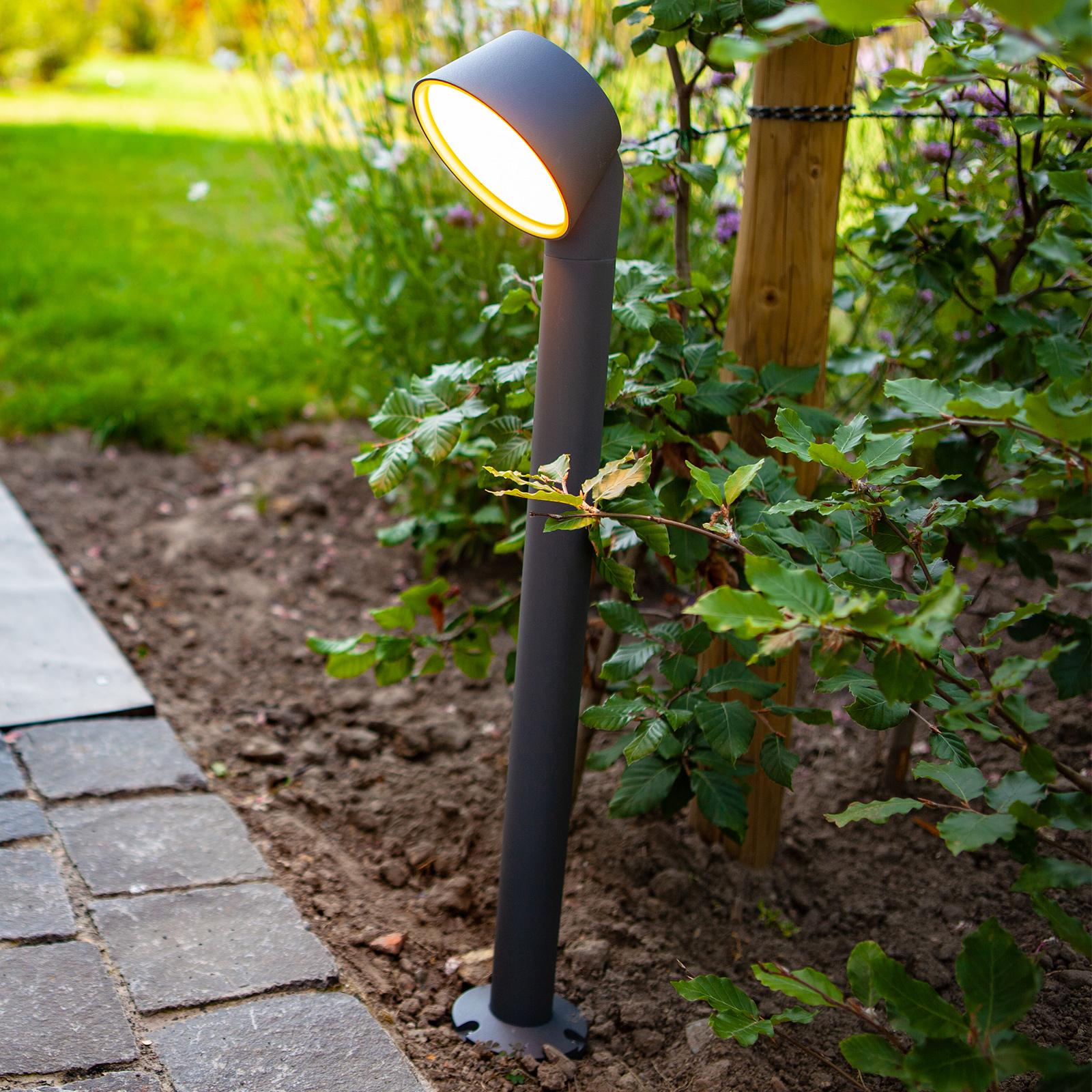 Słupek ogrodowy LED Dakota z technologią Tuya