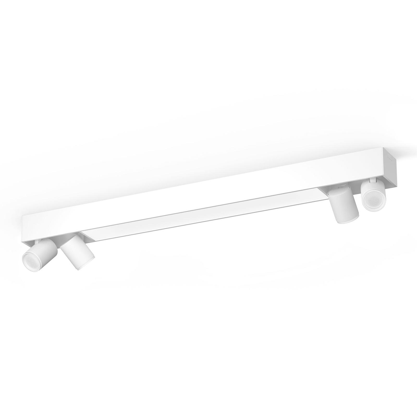 Philips Hue Centris loftspot, 4 lyskilder, hvidt