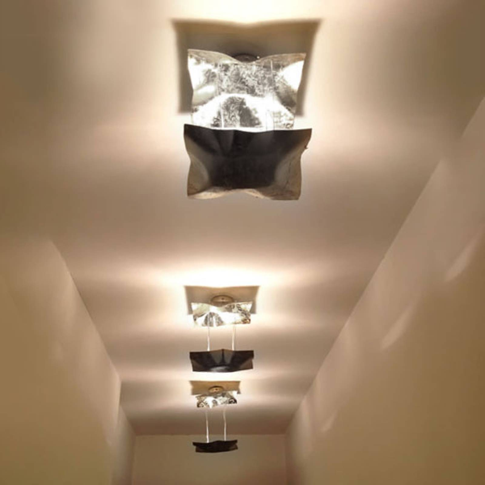 Designerska lampa sufitowa LED Piccola Crash