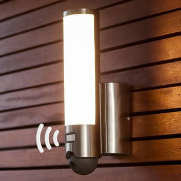 Intigrert kamera - LED-utevegglampen Elara Cam