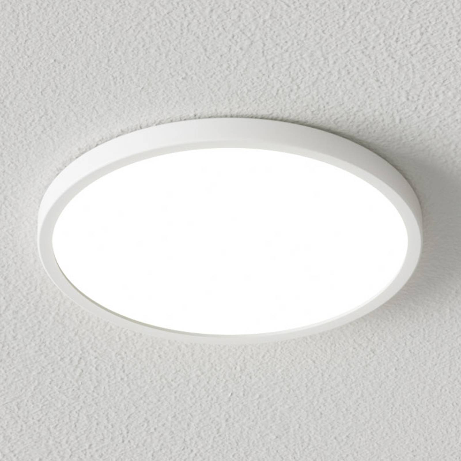 Dimbare LED plafondlamp Solvie in wit