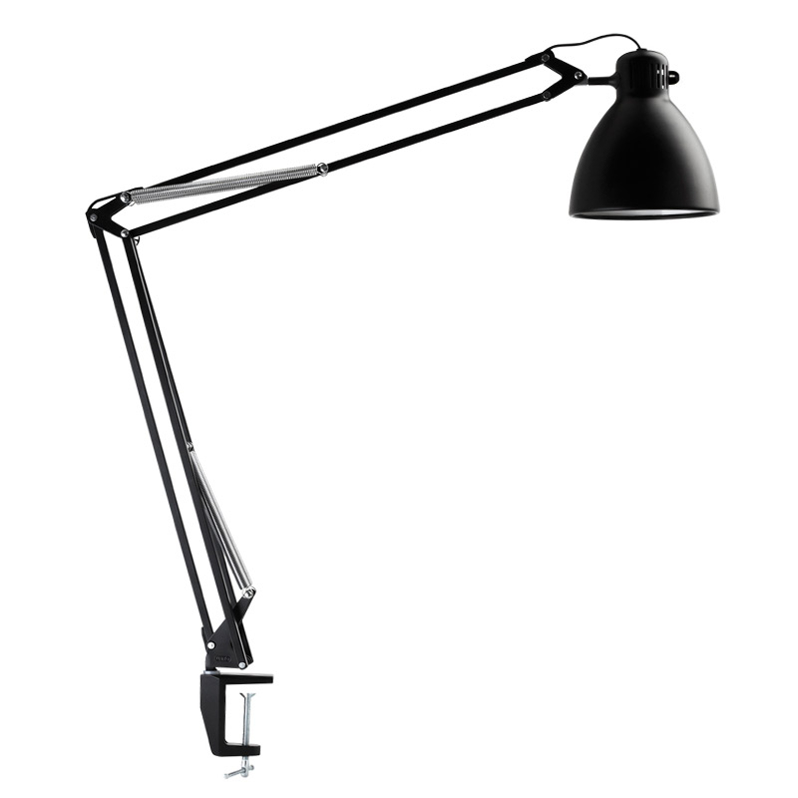 Innovatieve klemlamp L-1 Led zwart