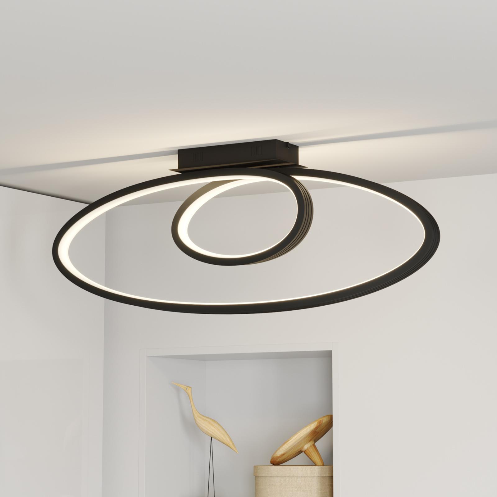 Lucande Bronwyn plafonnier LED, 98cm