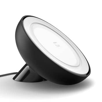 Philips Hue Bloom bordlampe, sort, hvid og farve