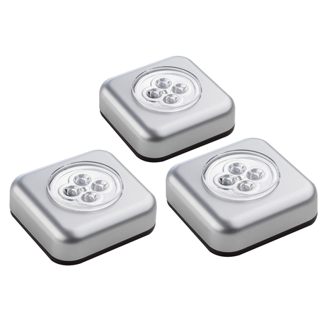 Touchlight – LED-kalustevalaisin, 3kpl:n setti
