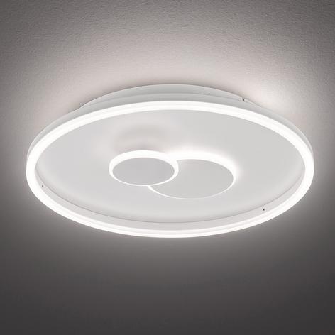 LED-Deckenleuchte Nadra, dreistufig dimmbar, rund