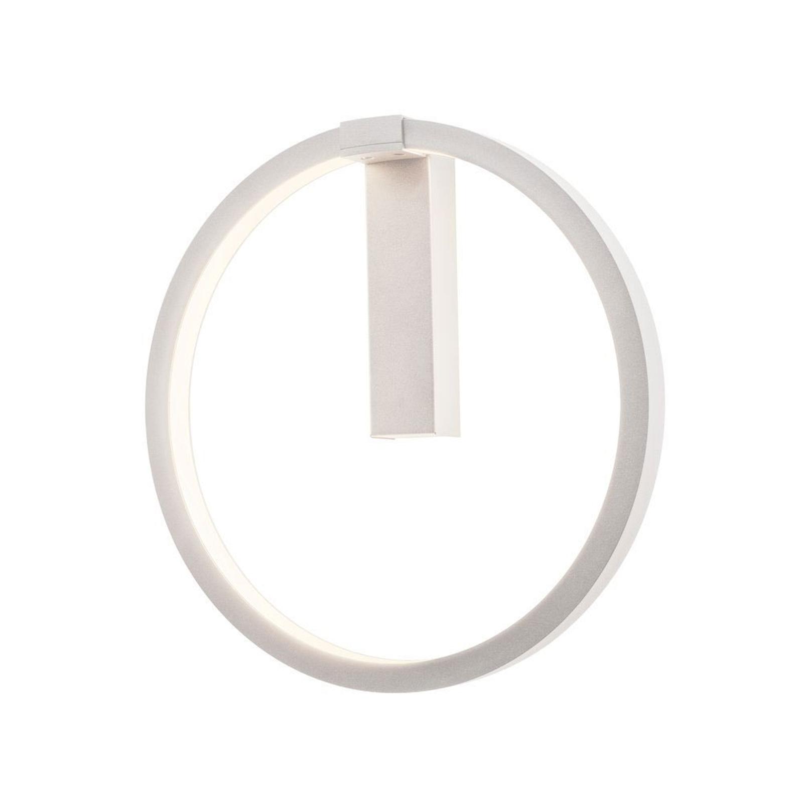 SLV One LED-Wandleuchte, DALI, weiß, Ø 40 cm