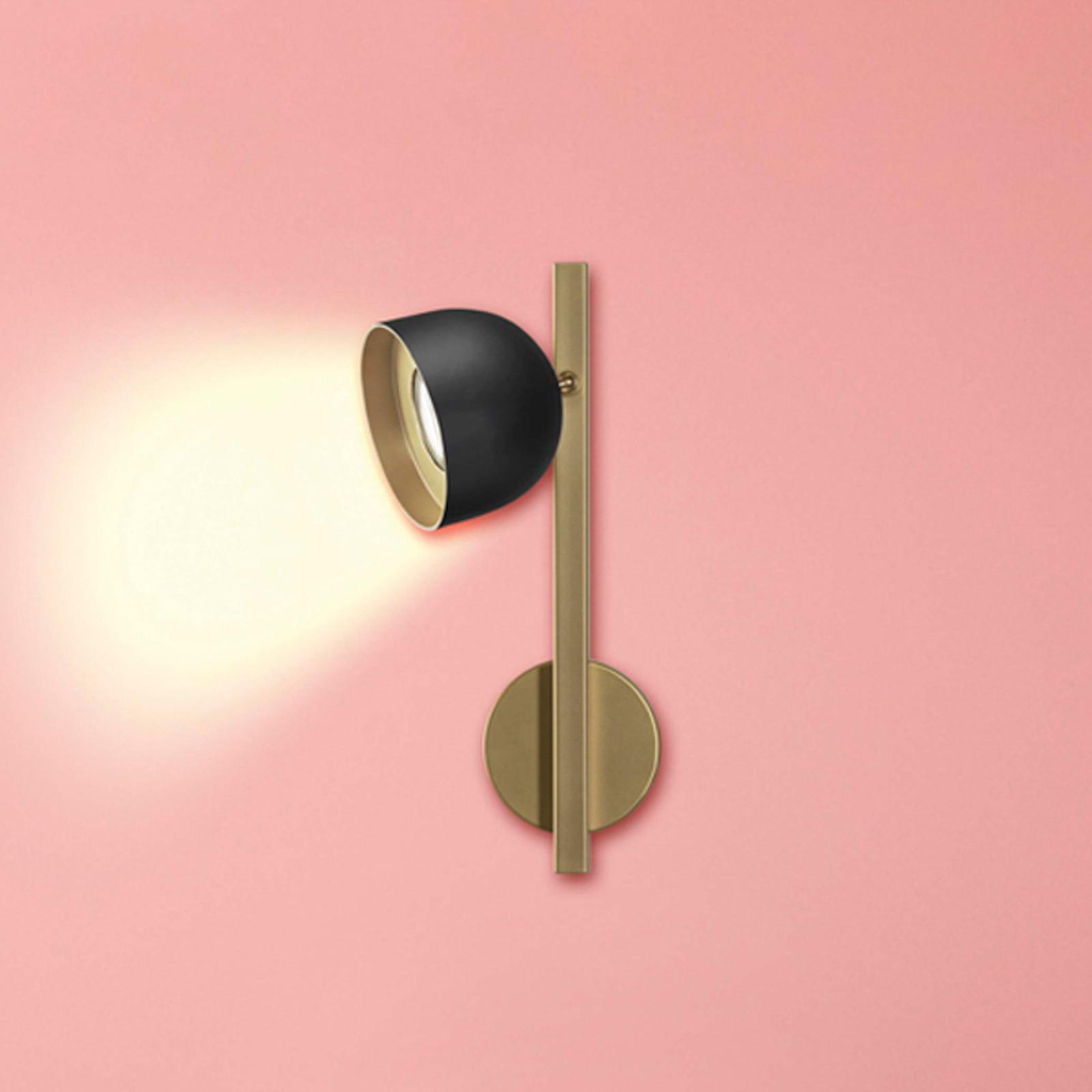 Dome LED-væglampe, 1 lyskilde