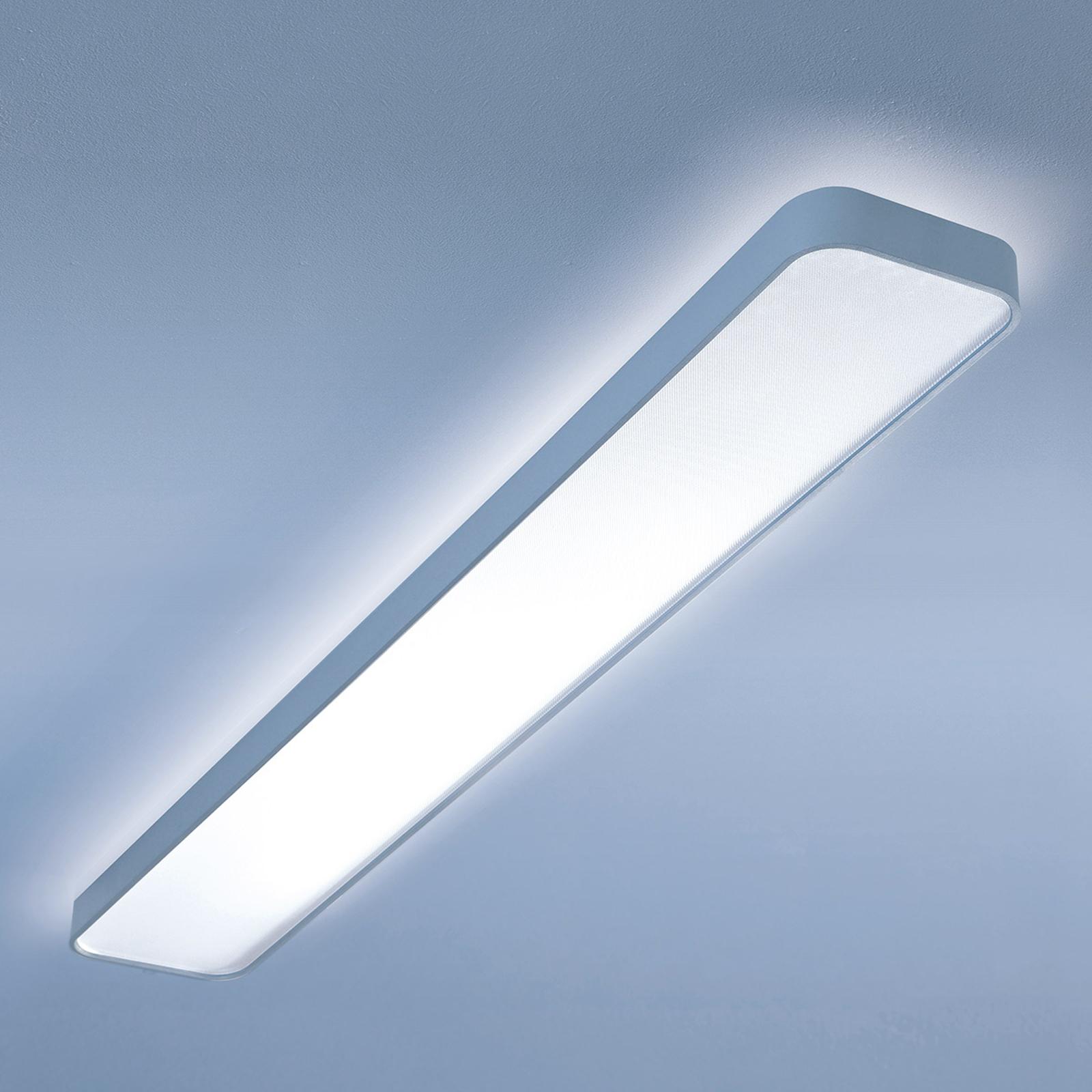Plafonnier LED long Caleo-X1 blanc chaud 120 cm