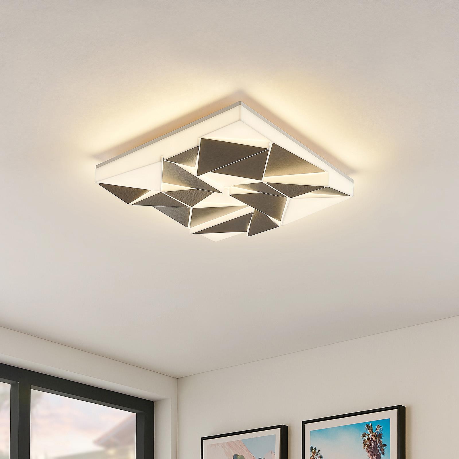 Lindby Ingmar lampa sufitowa LED CCT, 40 cm