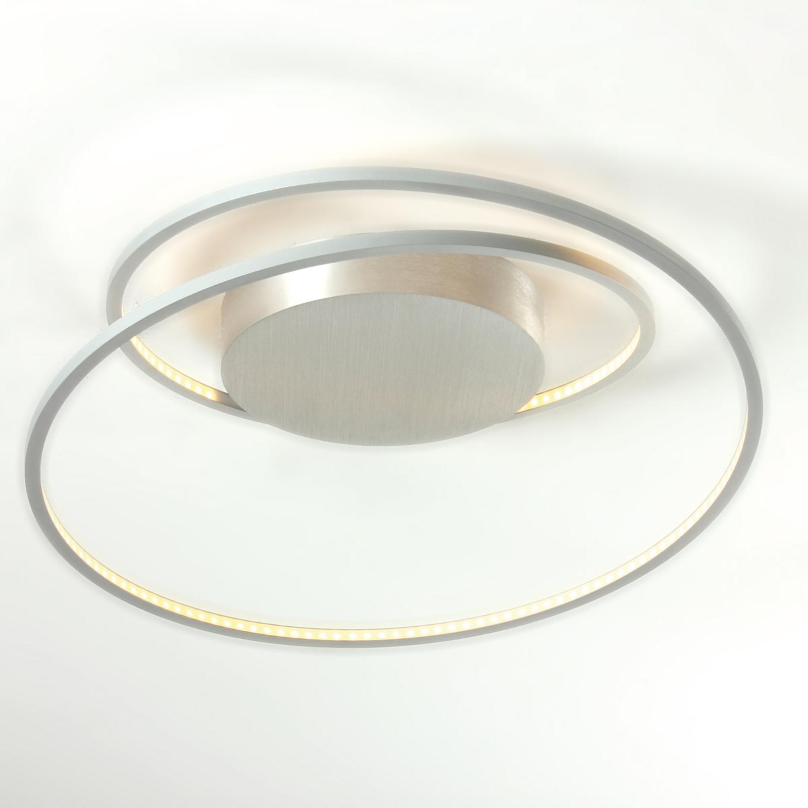 Fascinerende LED-taklampe At i aluminium