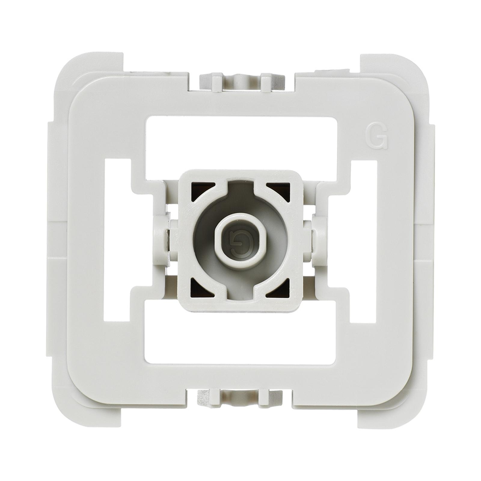 Homematic IP adapter voor Gira schakelaar 55 20x