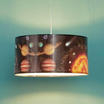 Hanglamp Space met metalen bedrukking