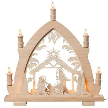 Lichtpiek Christus geboorte