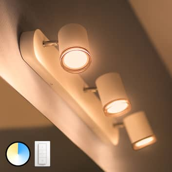 Philips Hue White Ambiance Adore LED spot 3-lamps
