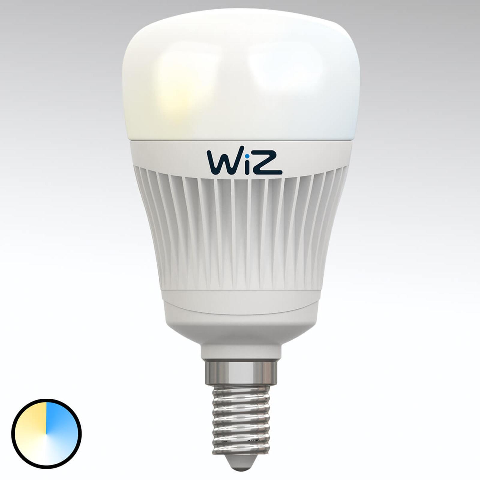 E14 WiZ LED-Lampe ohne FB, Lichtfarbe weiß