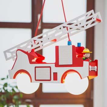 Lampada a sospensione Camion dei pompieri Fred