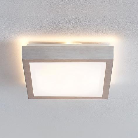 Lindby Margit LED plafondlamp, hoekig, 27 cm