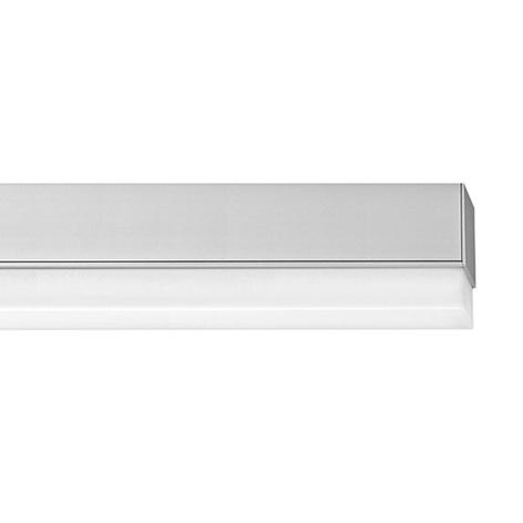 Ribag Metron LED-Deckenlampe alu warmweiß dimmbar