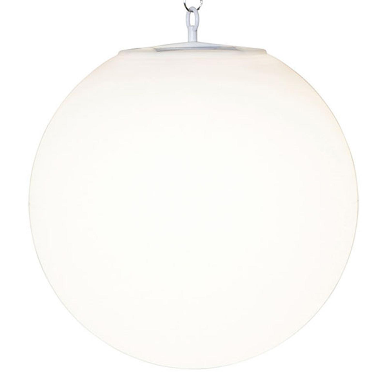 Lámpara colgante solar LED Globy, esférica
