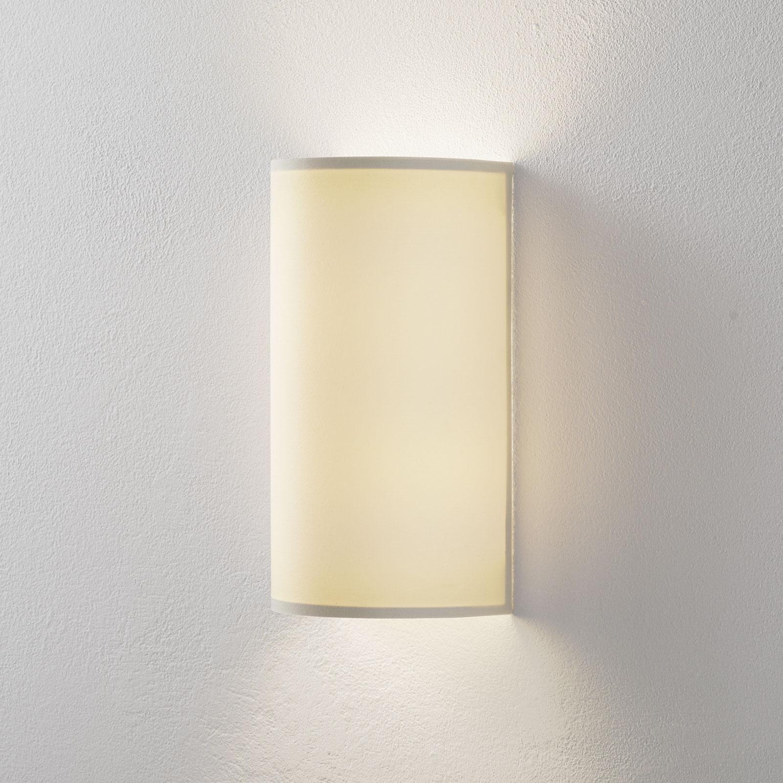 Lucande Patrik wandlamp halfrond 30cm crème