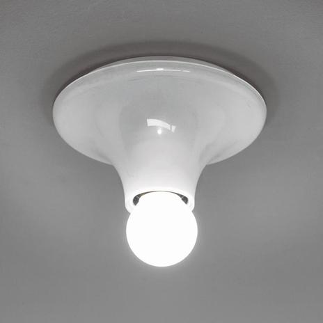 Designerska lampa ścienna Teti, biała