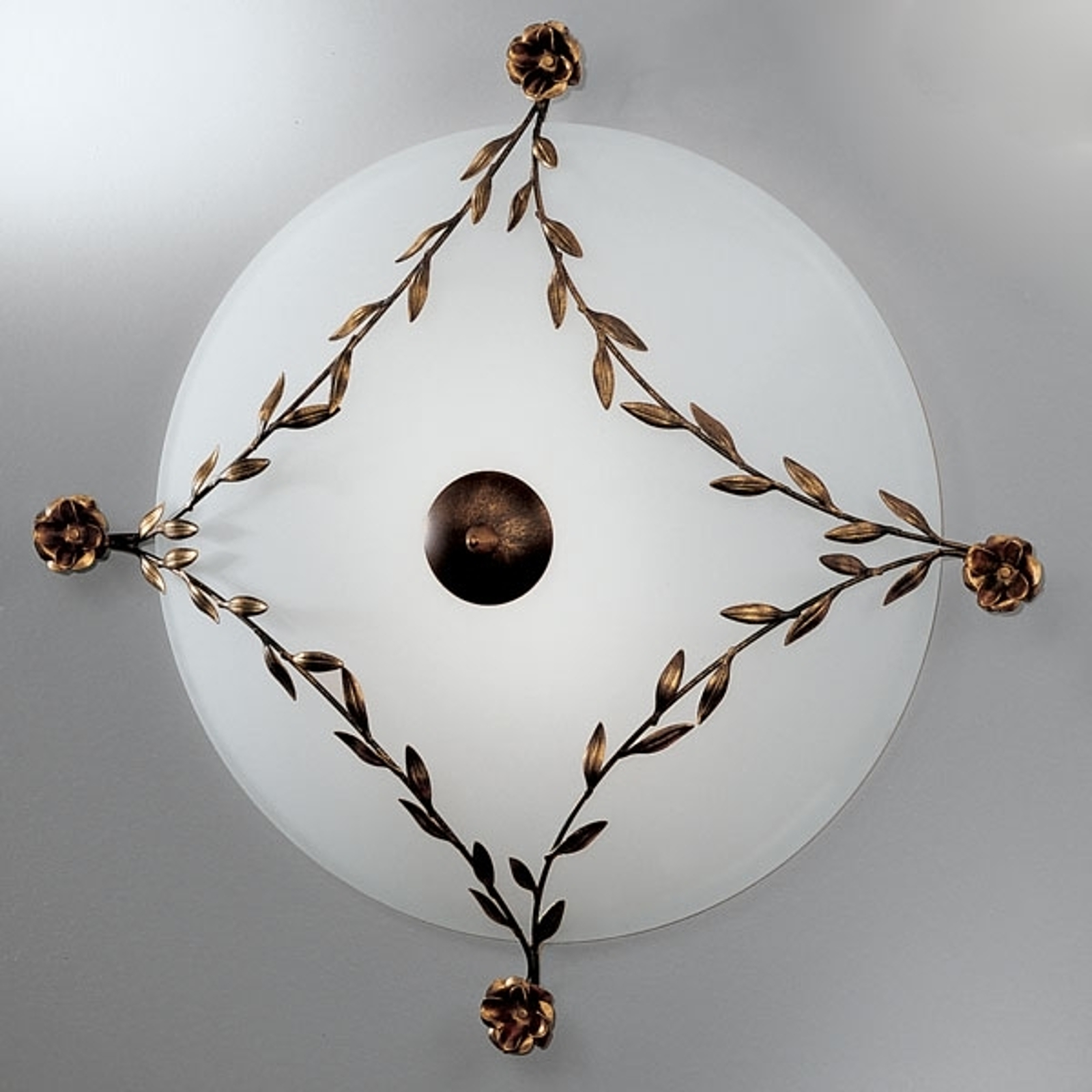 Ujmująca lampa sufitowa ROSE 65 cm