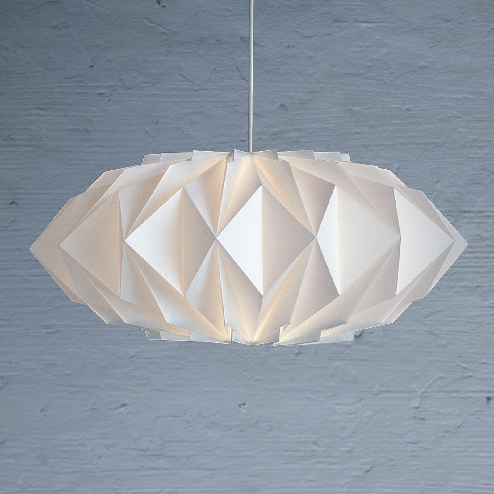 LE KLINT Krystal 161 - plisowana lampa wisząca