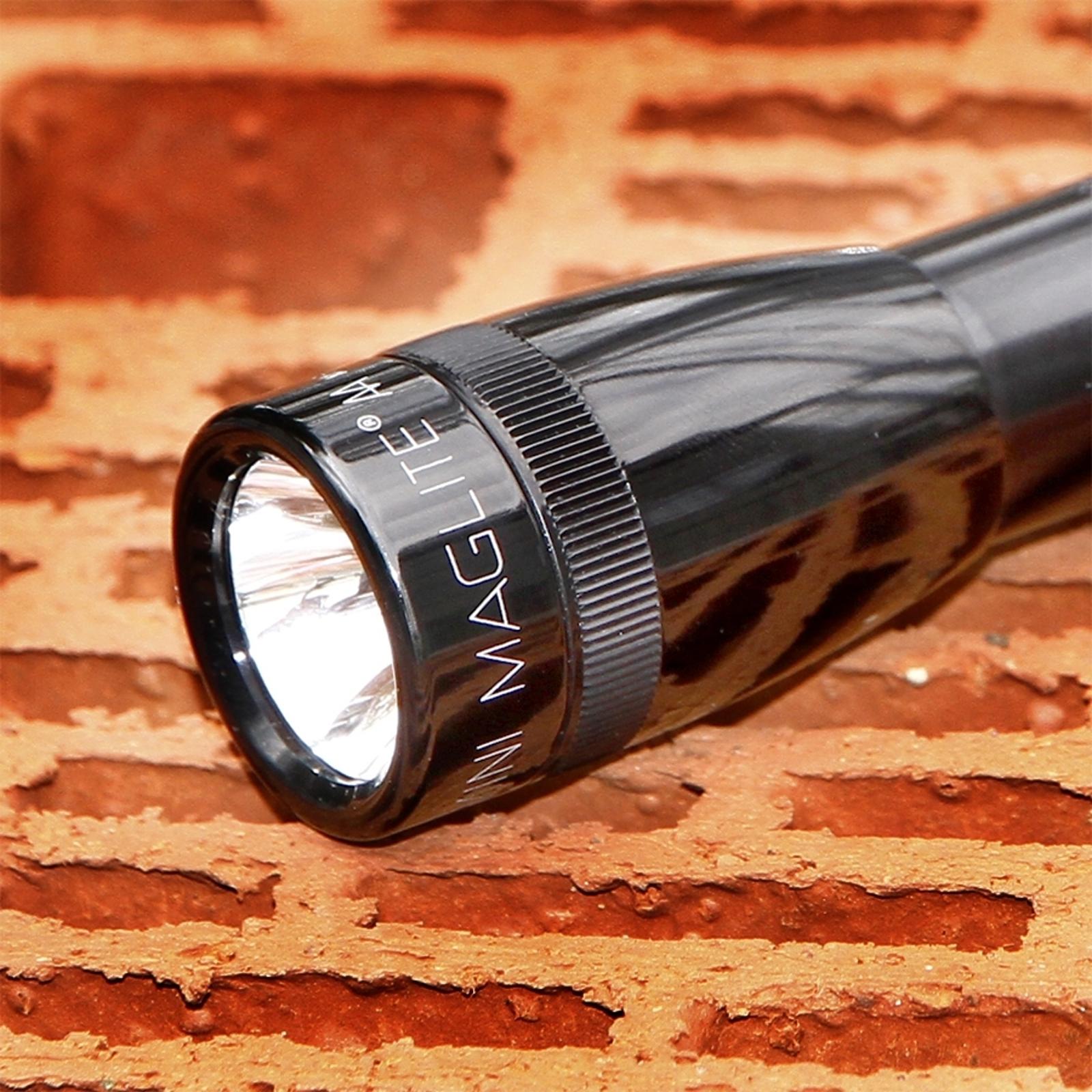 Praktická kapesní svítilna Mini-Maglite, černá