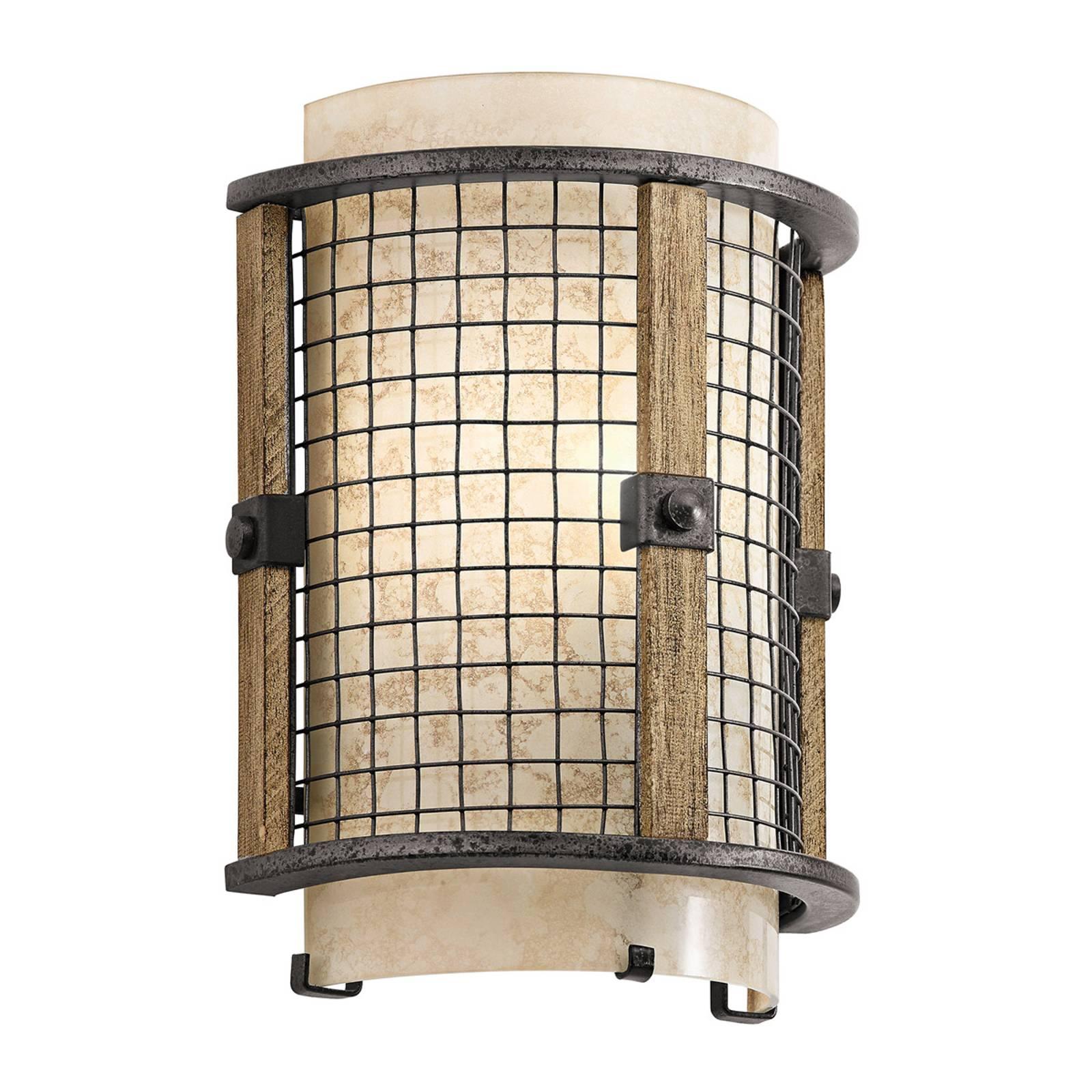 Rustieke wandlamp Ahrendale