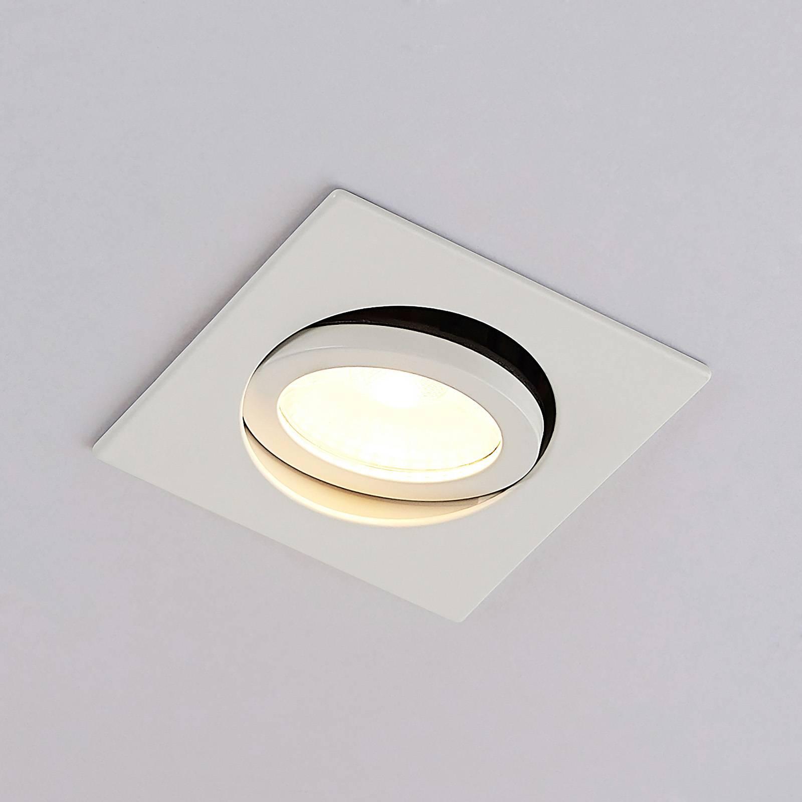 Arcchio Dacio LED downlight hoekig 36° IP65, 8,2W