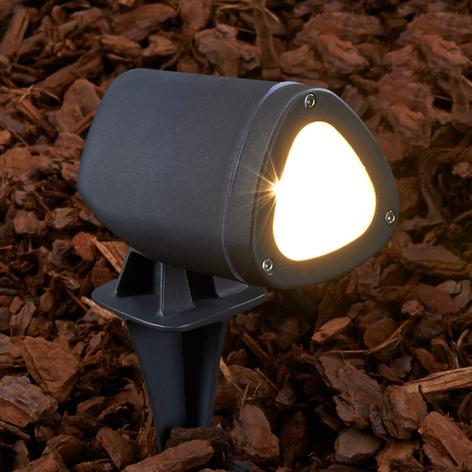 Spot LED Cody doté d'un piquet de terre