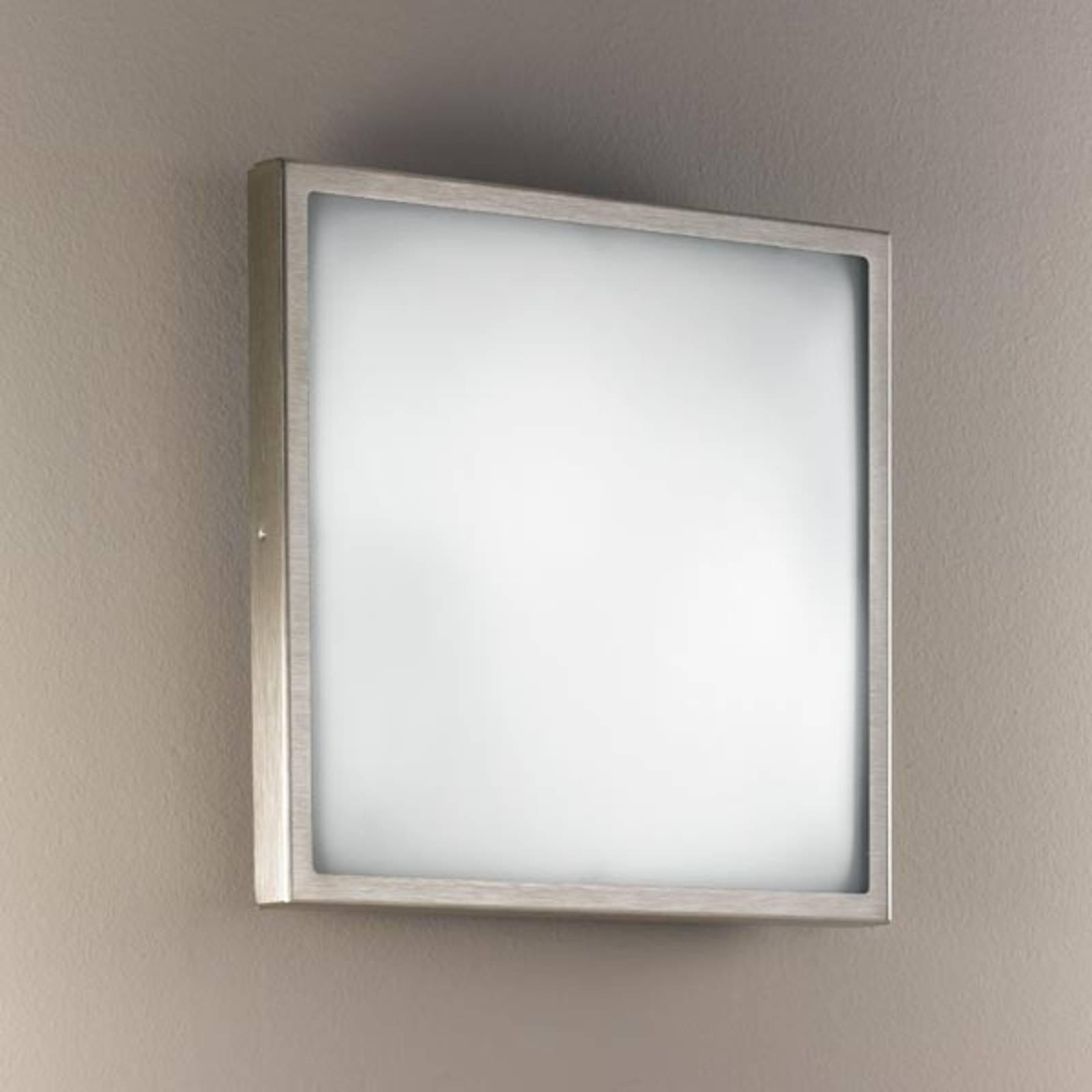 Glas-Wand- und Deckenleuchte OSAKA 30 nickel