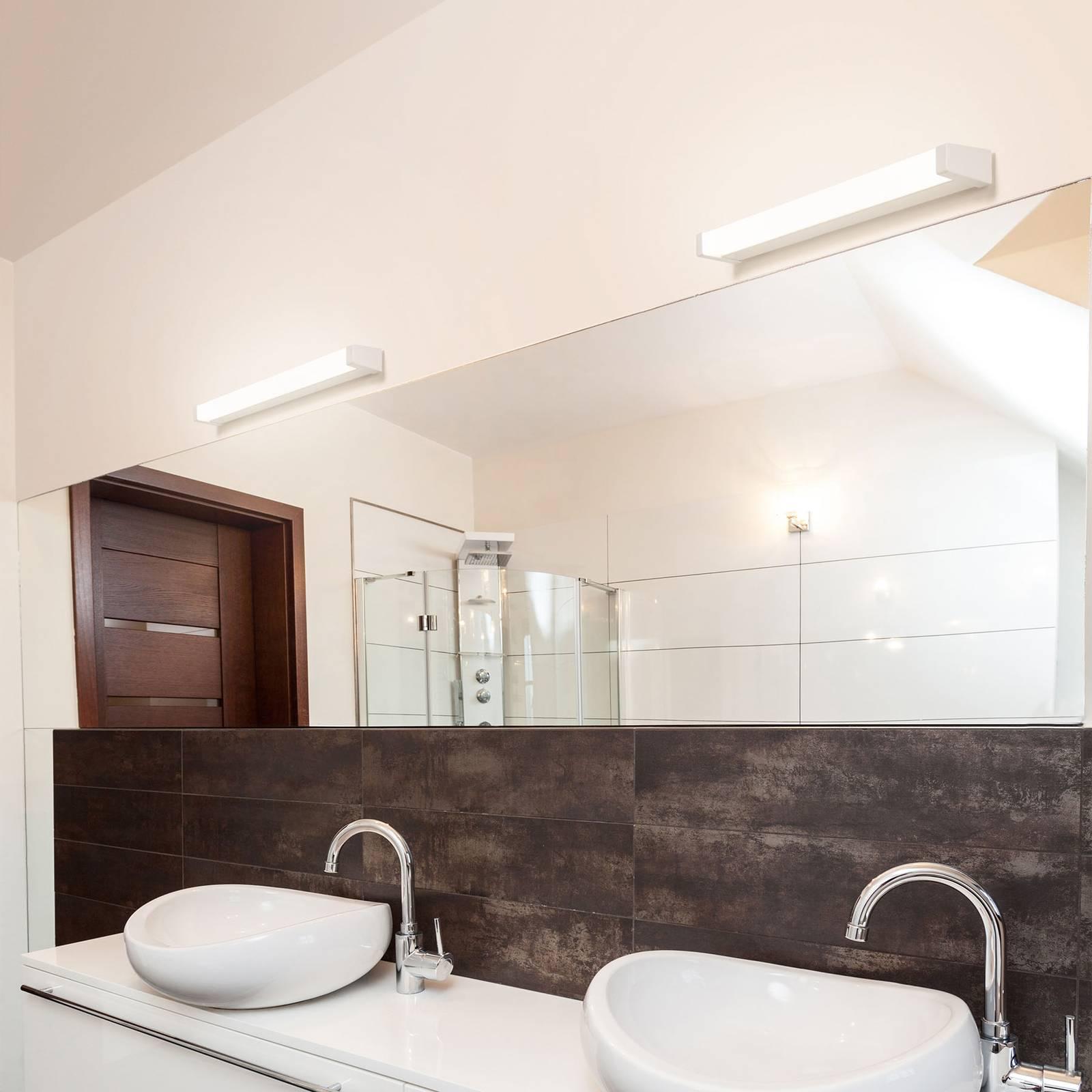 Applique à miroir LED 512, 3000 K, 88 cm, blanche
