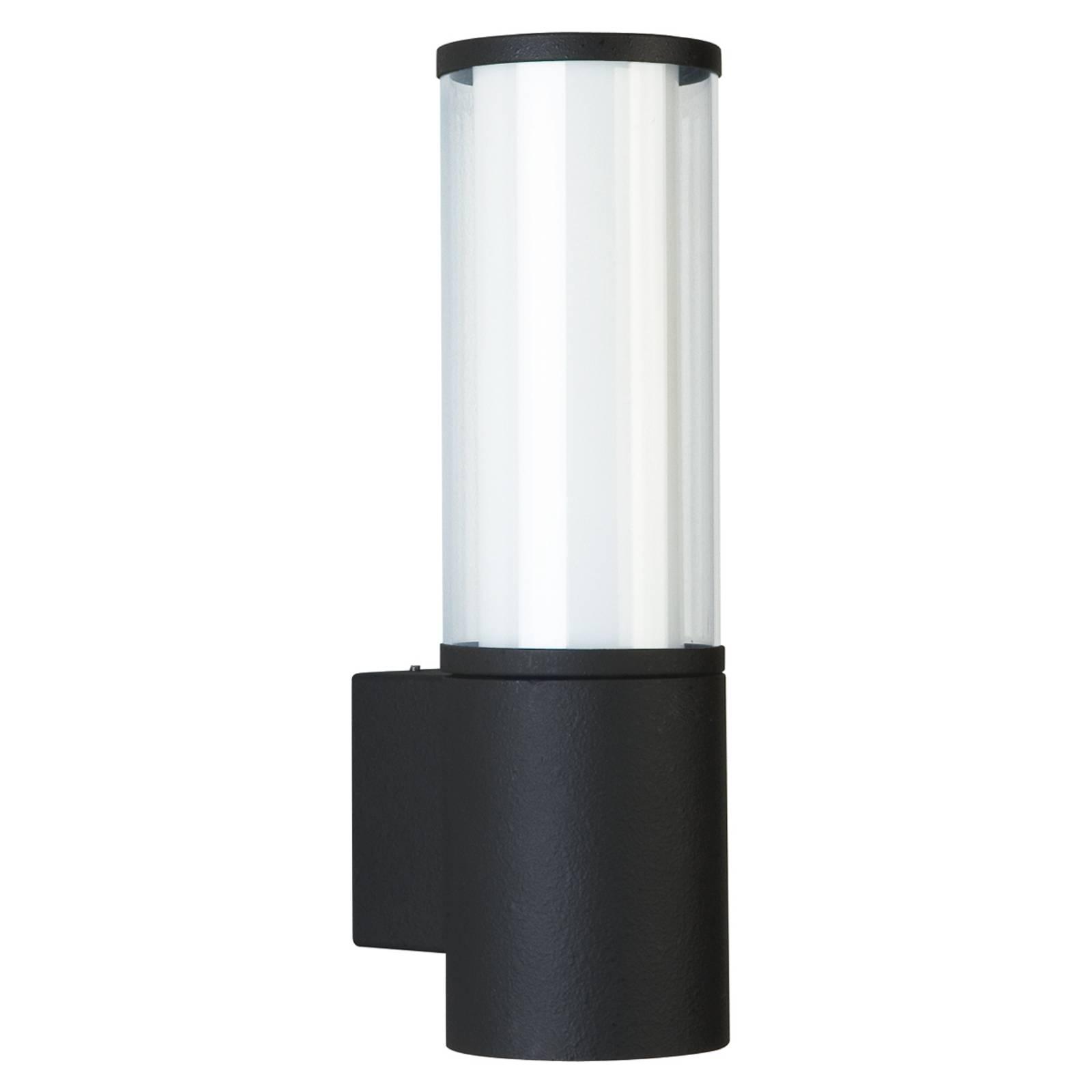 Nowoczesna zewnętrzna lampa ścienna Giulia czarna