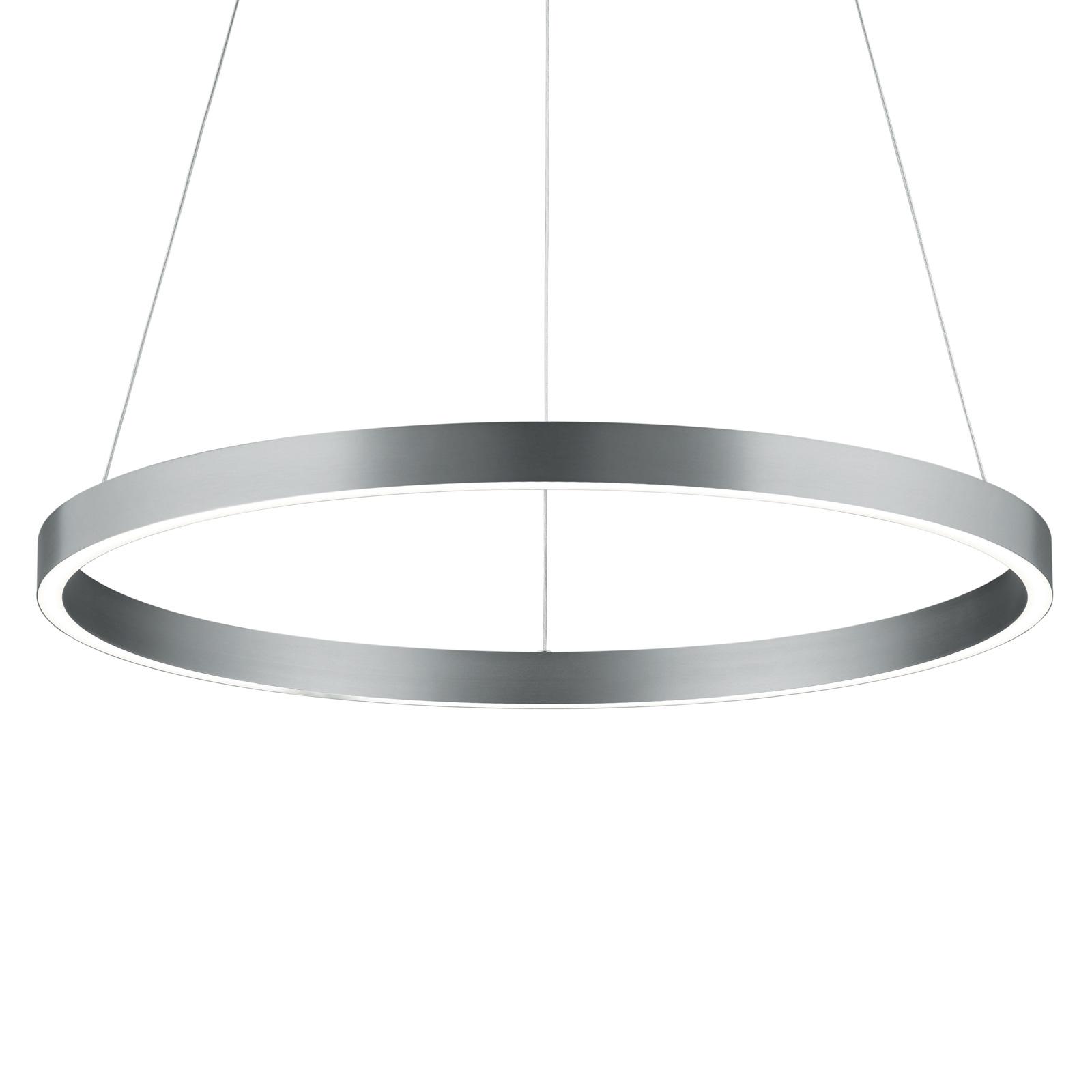LED hanglamp Svea-L 60 nikkel