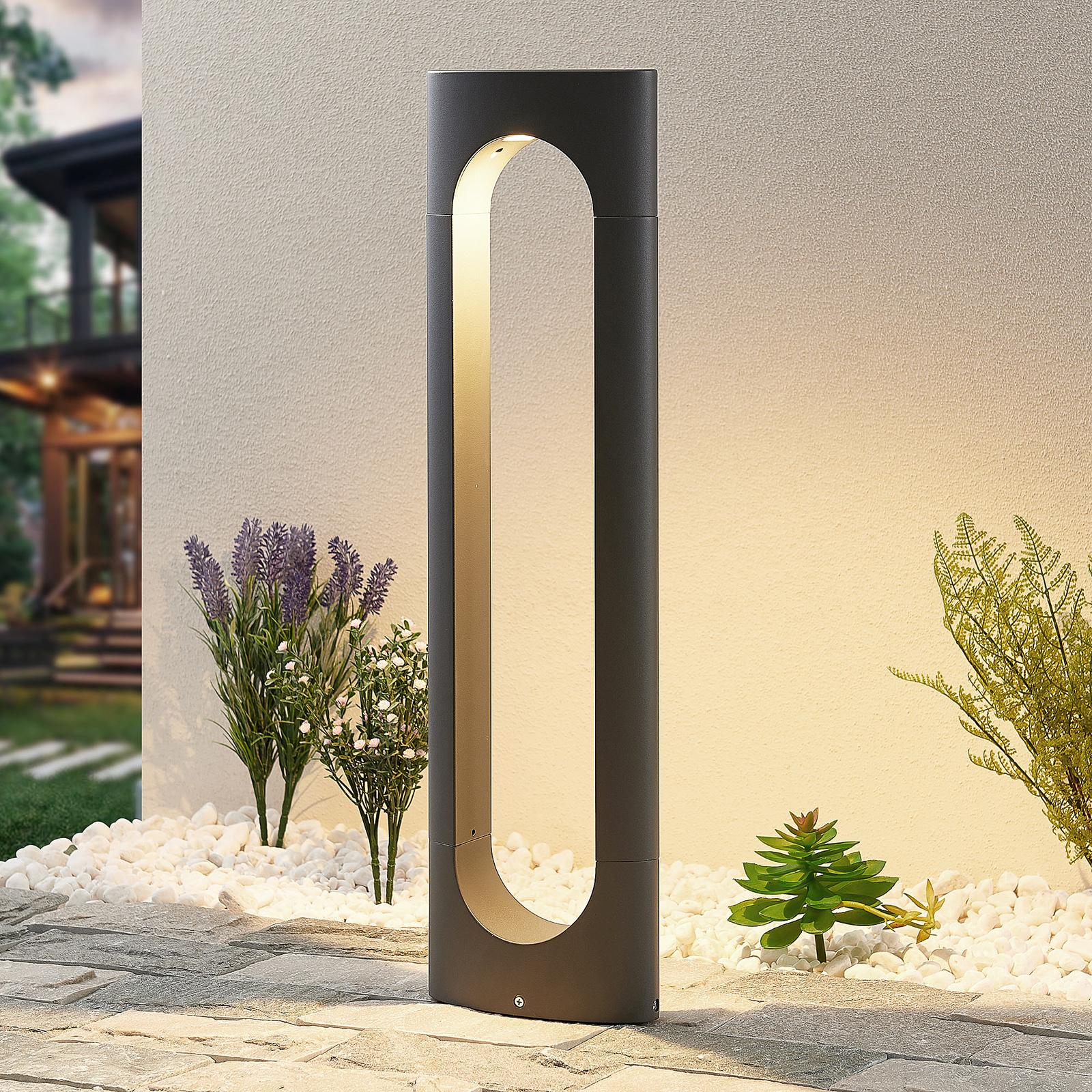 Lucande Fenti borne lumineuse LED, 65cm