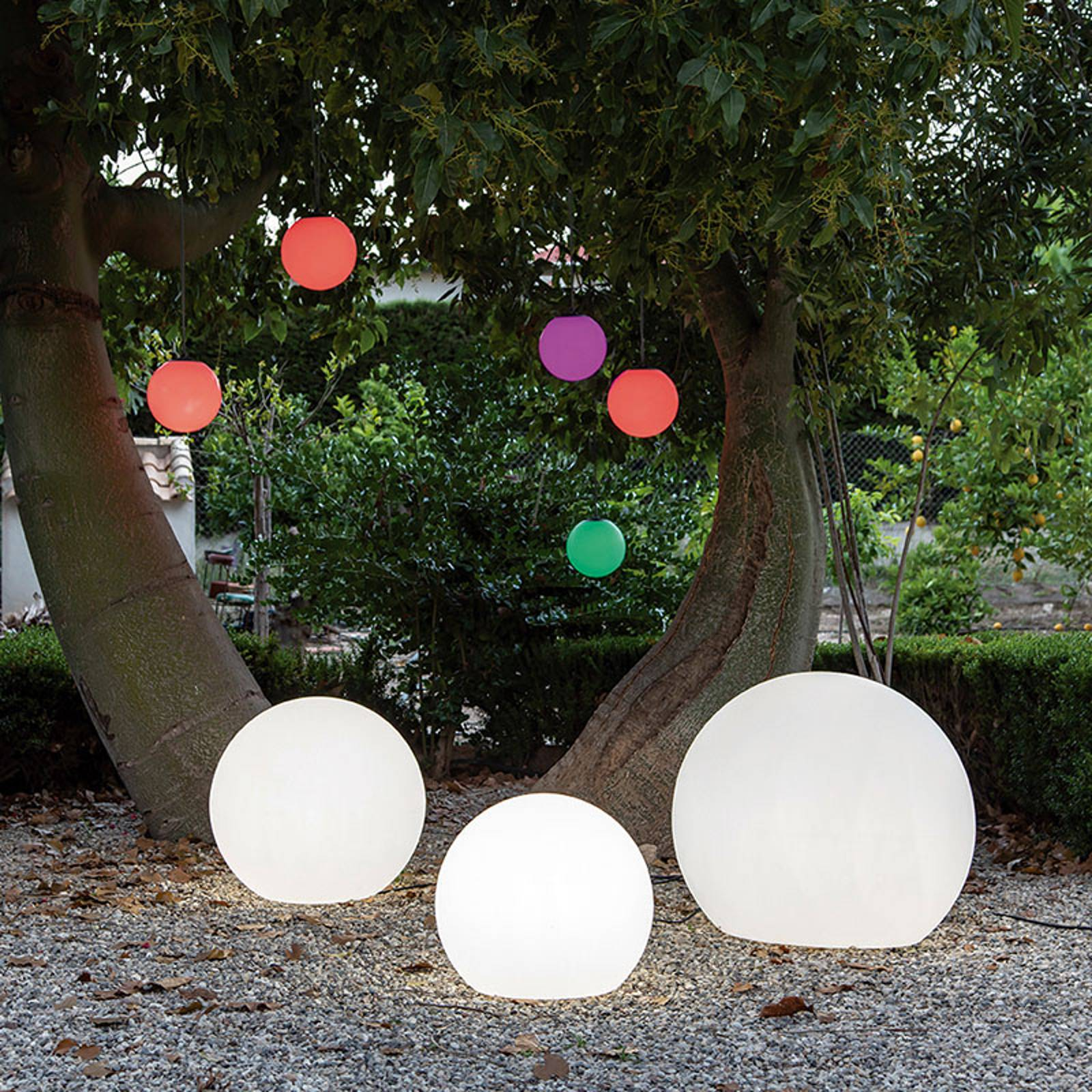 Newgarden Buly vloerlamp bol, Ø 40 cm