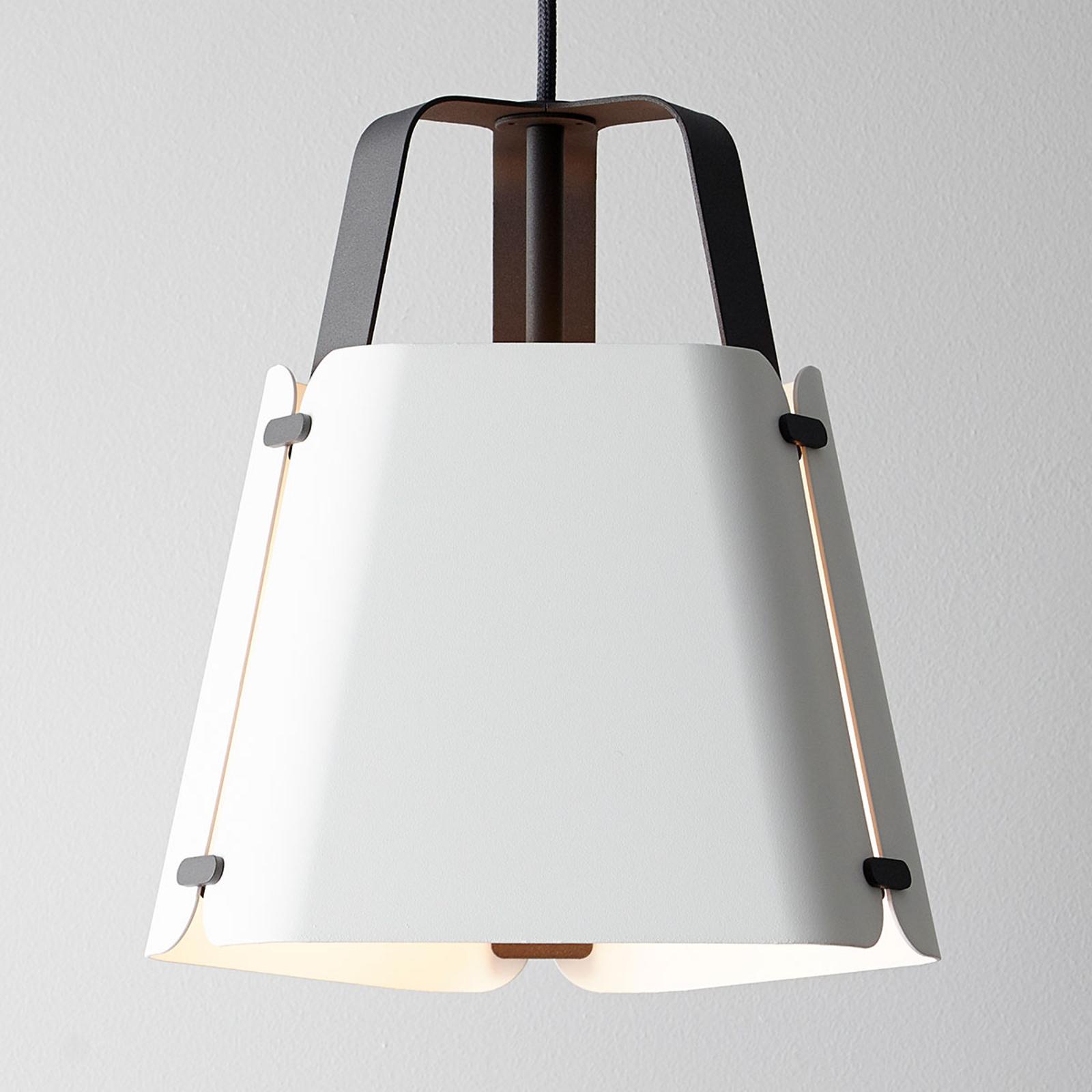 Lampa wisząca Fold, biała, 27,5 cm