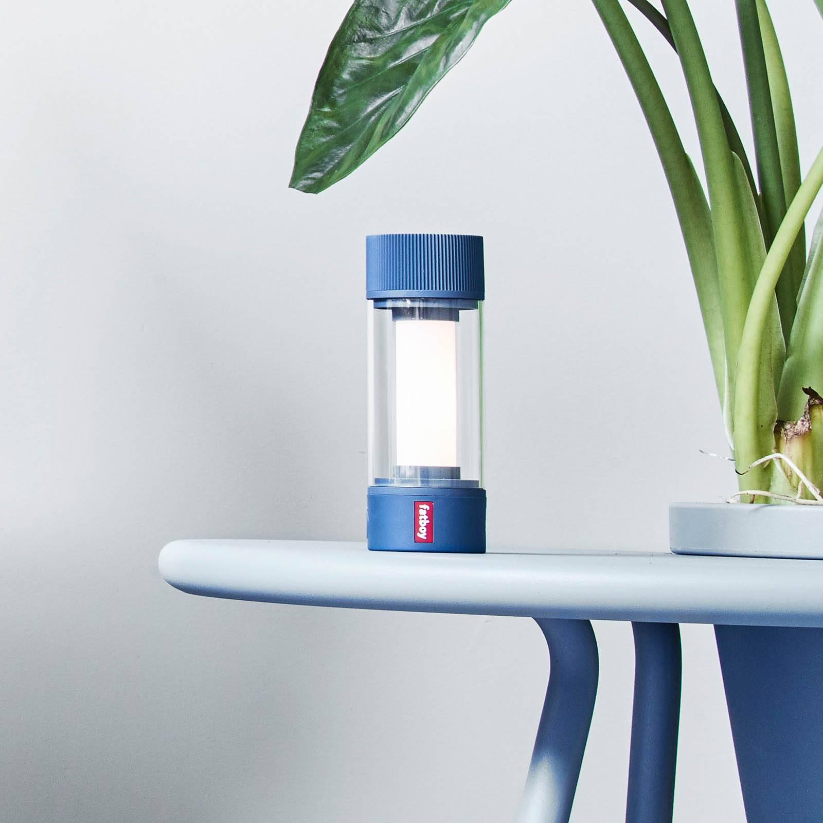 Fatboy LED-Tischleuchte Tjoepke mit Akku blau